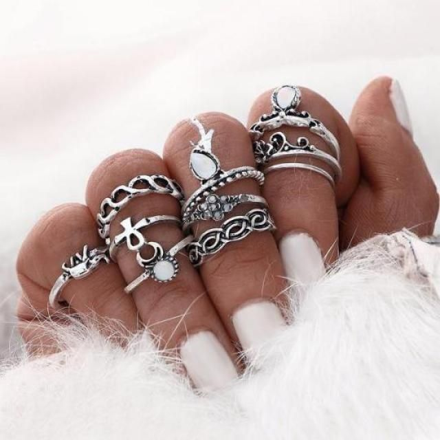 I love boho and indie style so this rings are so perfecto for this style!!!♥♥♥