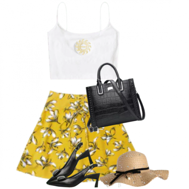 Chic look - perfect for a summerparty