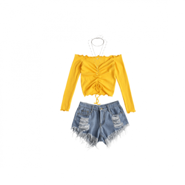 Cute bright summer outfit!