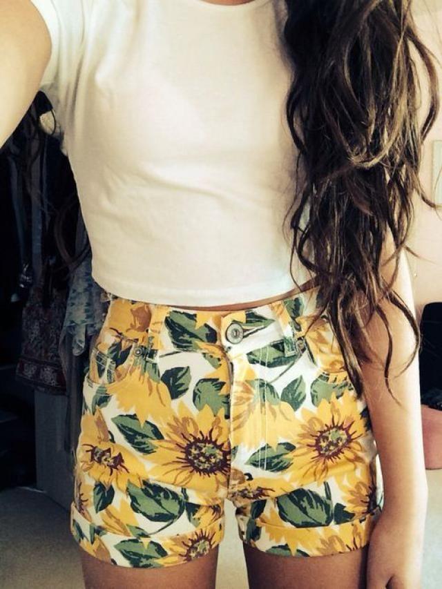 Sunflower Belted Wide Leg Shorts