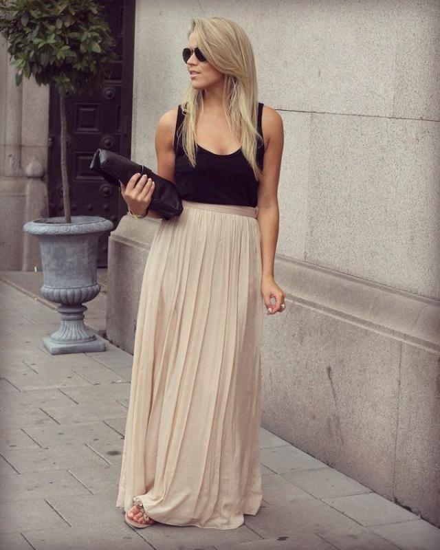 Mesh Tiered Ruffle Maxi Skirt