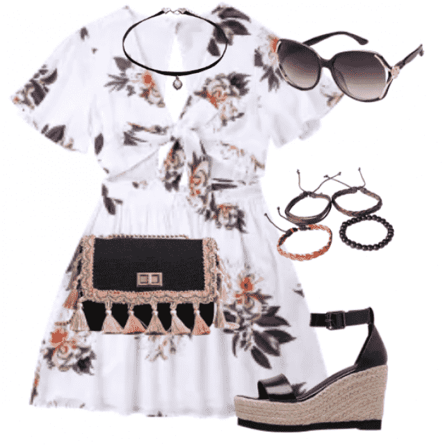 Cute dress  for summer and beach