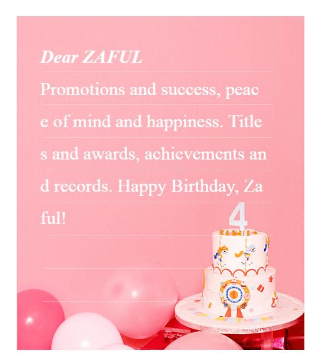 Promotions and success,