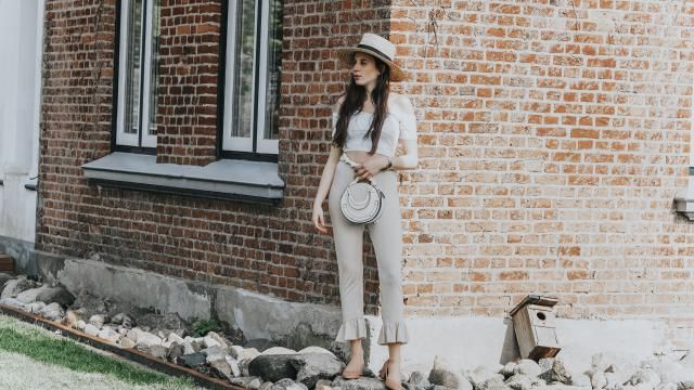 What about a whole white look for Summer? White on white on white. Simply why not. See the details of this look on http…