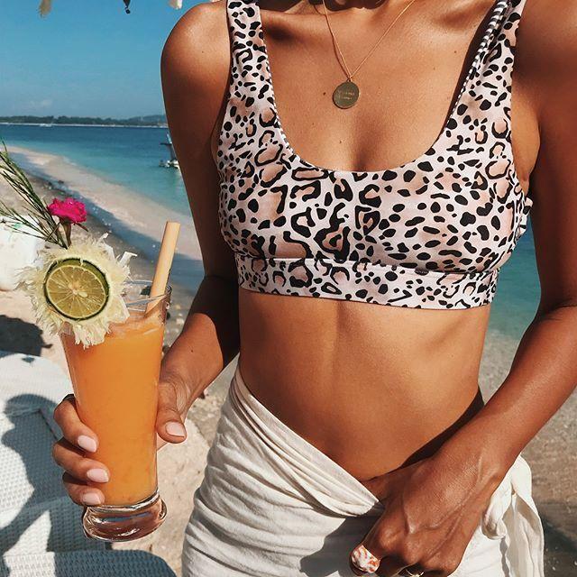 Gorgeous Leopard Bikini