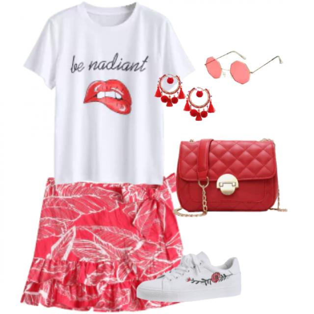 Kombination casual and fashion style