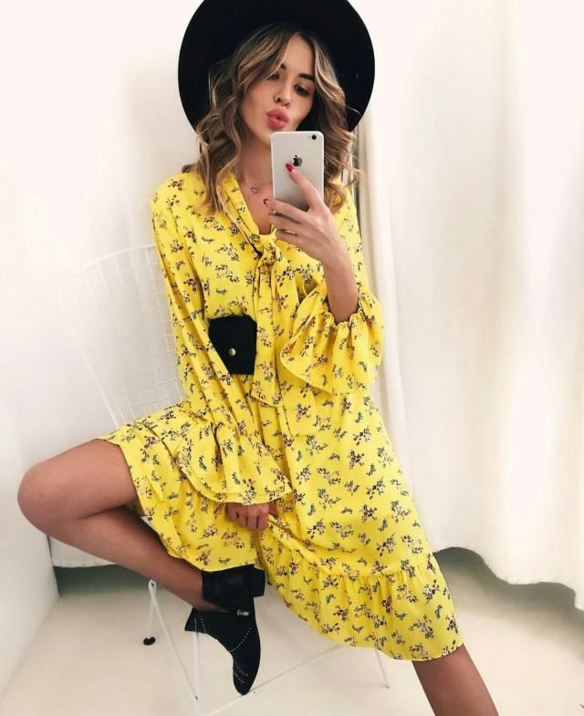 I think yellow is the perfect color for summer and this dress is so pretty