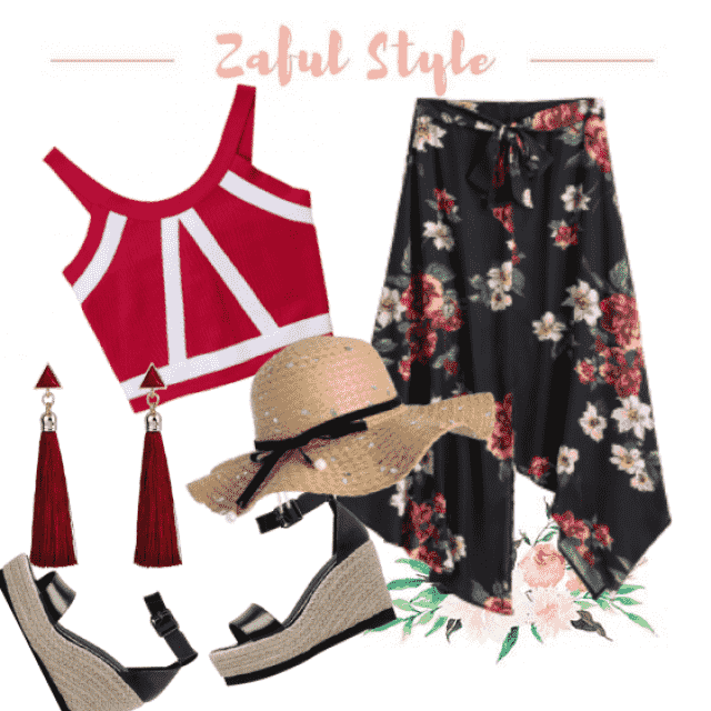 Lovely style for vacation!