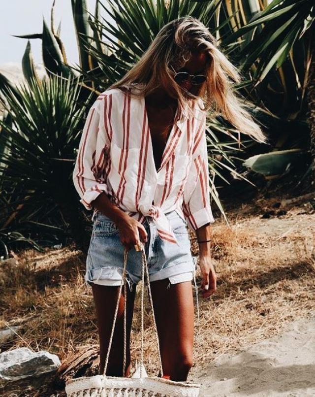 Amazing stripes button shirt