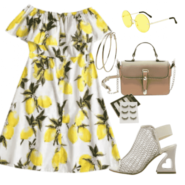 Cute dress for daily walk