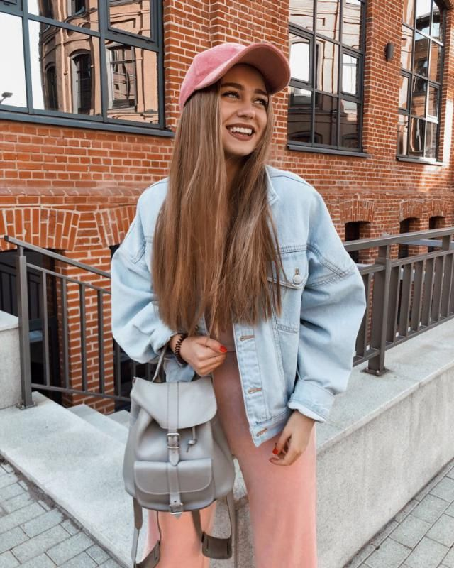 Keep it fresh and cute with this light denim jacket