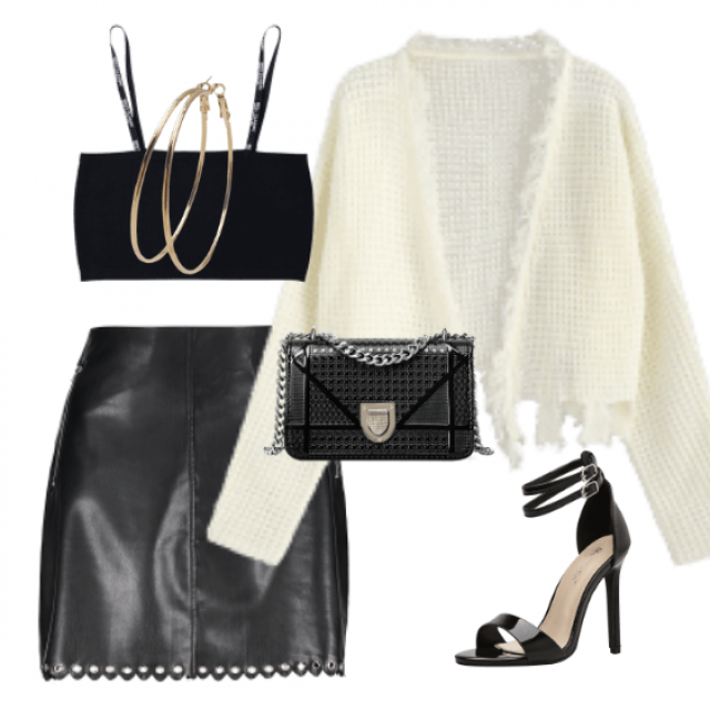 Black and white is always a good choice... so sophisticated