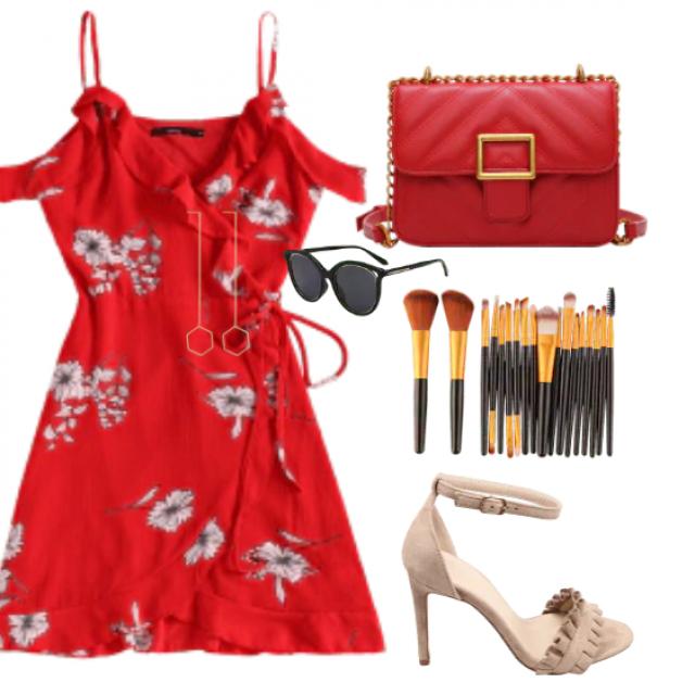 I love red ... I feel feminine and beautiful