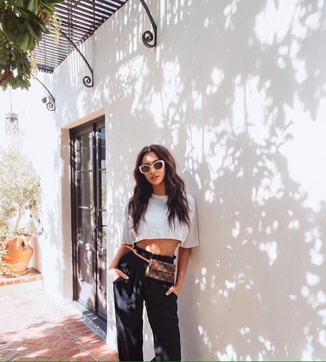 Shay Mitchel perfectly carries every garment item,