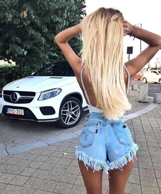 I love denim shorts perfect for summer