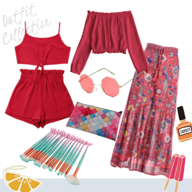 Mix and match these summer must haves  perfect for a summer weekend getaway