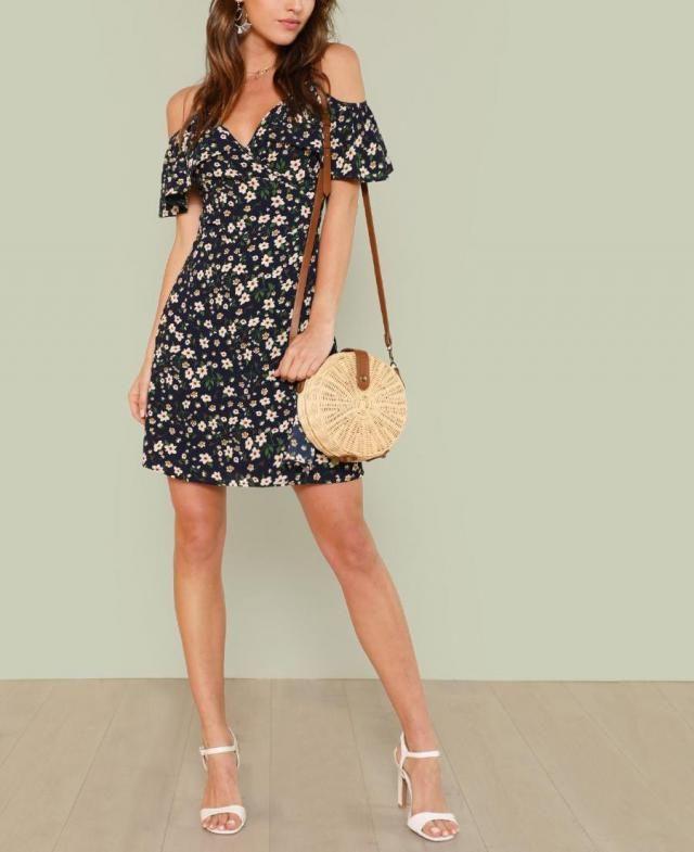 Nice dress with floralprint