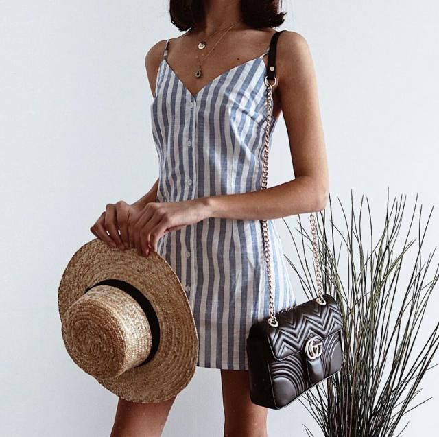 If you are looking for a casual but cute dress for your vacation this one is for you I love striped dresses they are so…