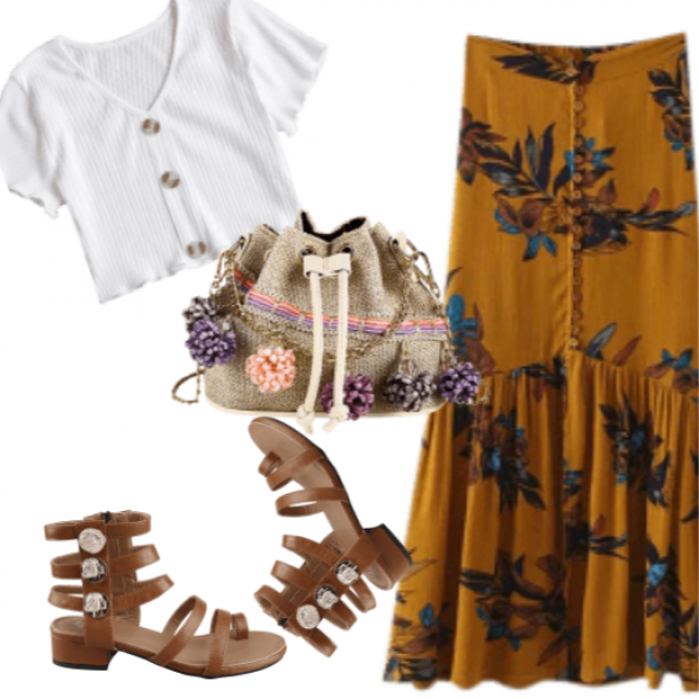 Trendy Boho Outfit