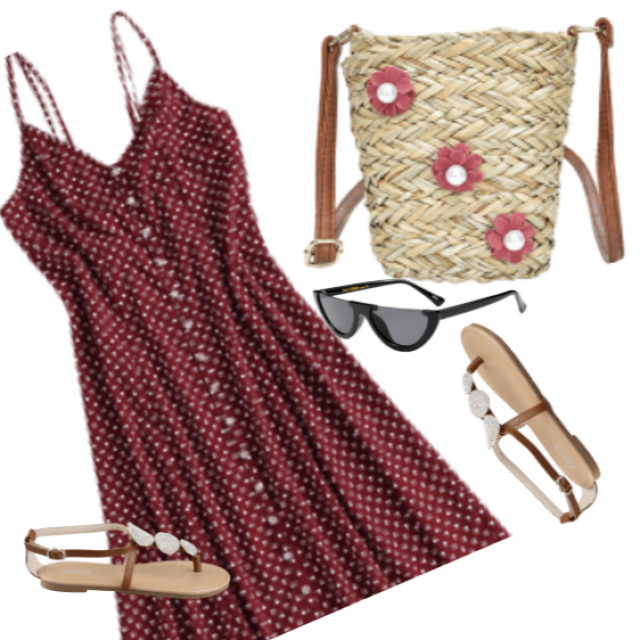 Summer, the sun is ideal for boho ... Lovely look :)