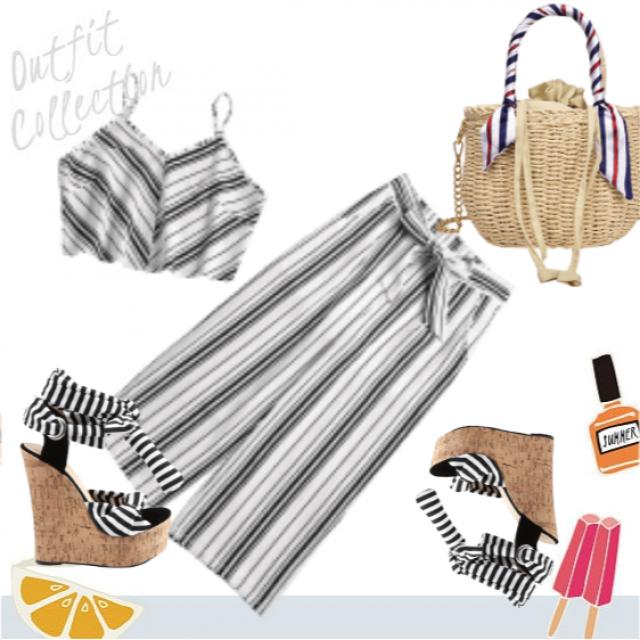 Chic striped look :)
