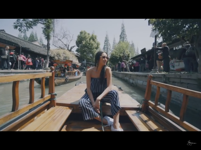 Shay Mitchel in China in ZAFUL video! Are you ready for your vacantion?