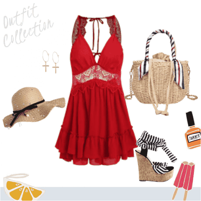 lovely summer outfit! ;)
