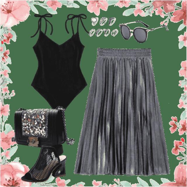 chic summer skirt