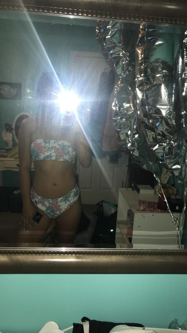 I sized down on this and I'm so glad I did! I'm 32c, typically an xs in VS underwear and I got a small! I typically fit…