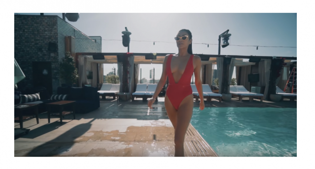 I love this swimsuit from ZAFUL , and I realized that Shay Mitchell wearing the same in her video! Now I have no doubt…