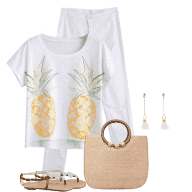 Gorgeous and fresh summerstyle - perfect for a summerday