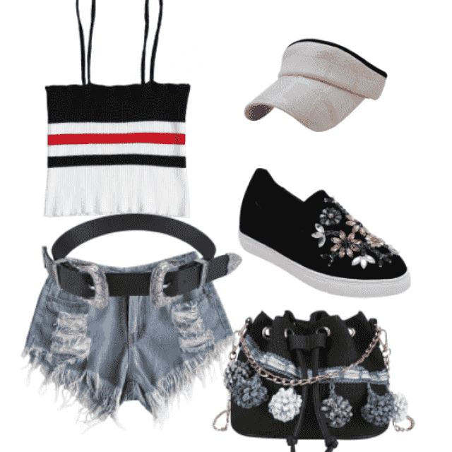 Trendy style for you
