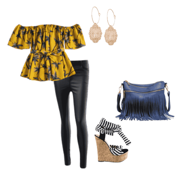 This outfit is perfect for spring, when it is not fully summer yet but also calls for paradise. Perfect for a lunch dat…
