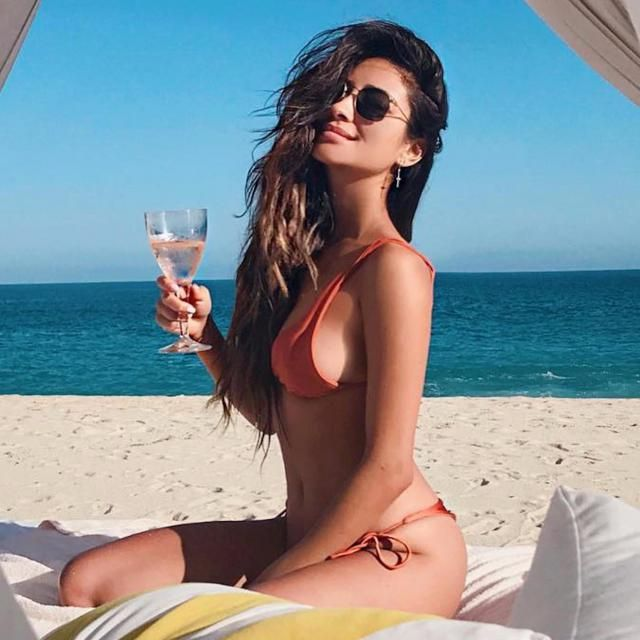 Beautiful Shay Mitchell and beautiful bikini. Love it!