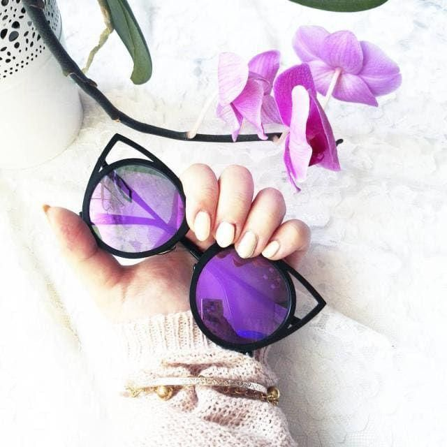 My favourite shape of sunglasses for this summer has def got to be cat-eye. Zaful has so many of these.