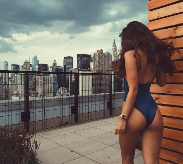 Gorgeous Blue Swimsuit
