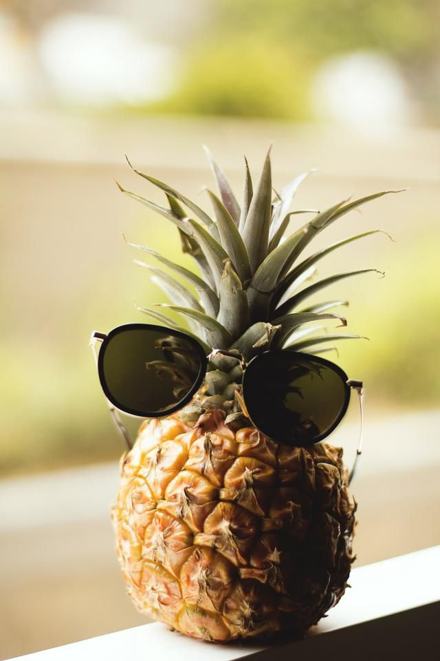 Funny pineapple