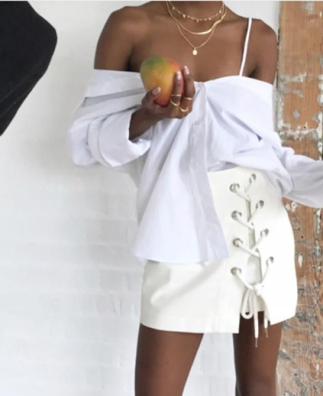 Bad and Bougie. Find this exact skirt here on zaful.