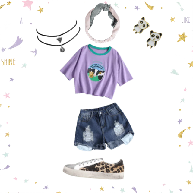 Childish and wild styled outfit just for you guys! The outfit is not for kids, is for adults and teenagers. Enjoy it!…