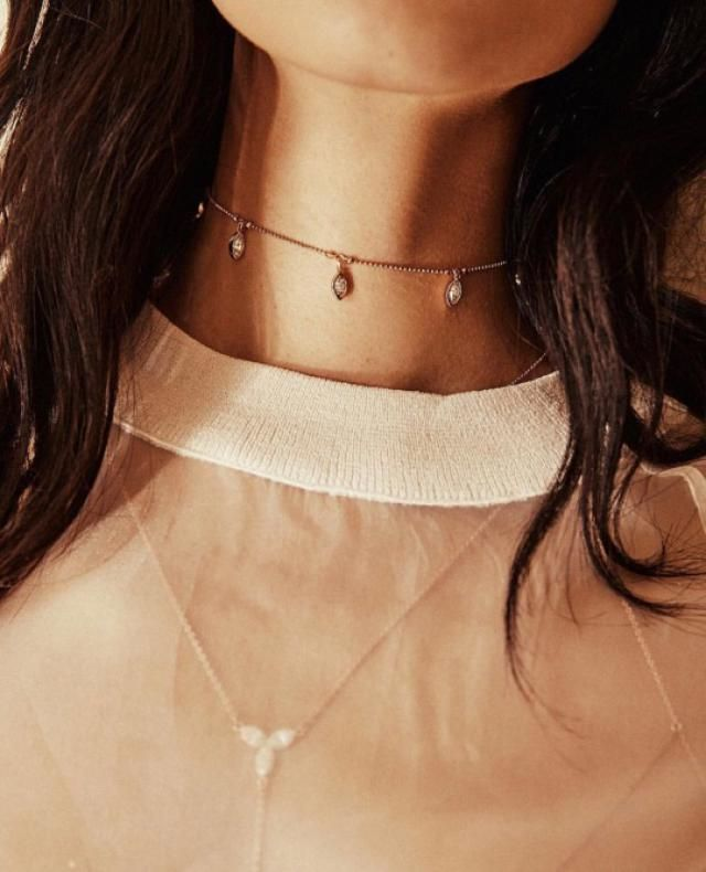 One thing I always keep on hand is a choker necklace, It adds so much to any outfit i'm wearing.
