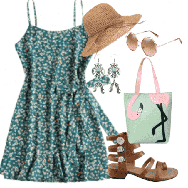 This dress bring fashion and comfort in this summer