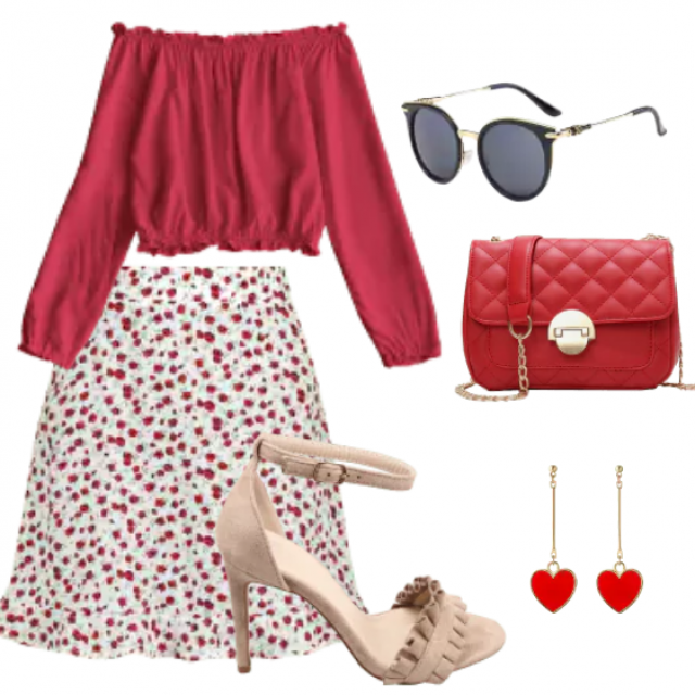 Beautiful look and comfort with a beautiful combination