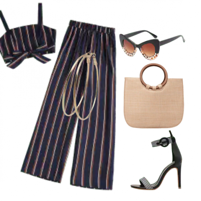 Elegant set for going out and party