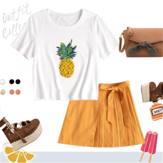 Stylish summer look! Get this outfit!