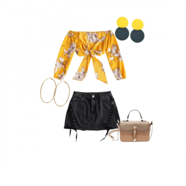 Perfect outfit for a hot summery day