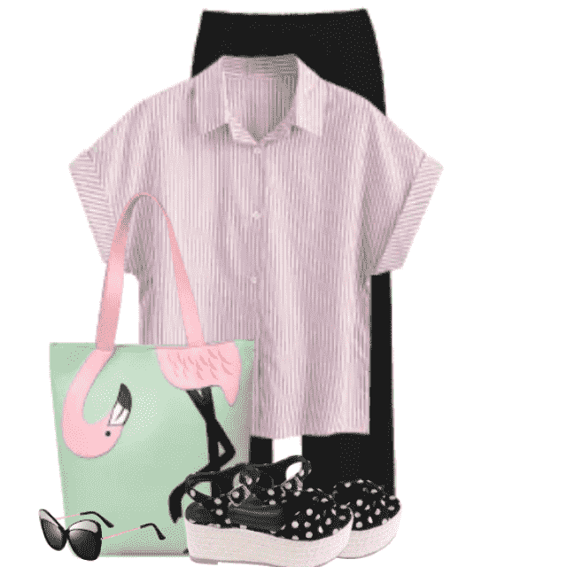 Gorgeous casual style - perfect with this cute bag