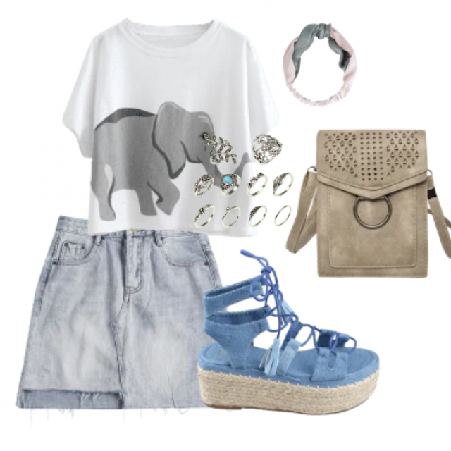 Relaxed style for going out