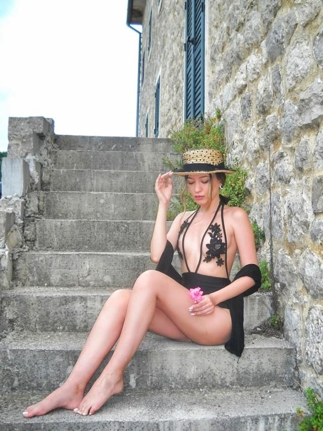 My favourite swimwear from  My post: http://itsmetijana.blogspot.com/2018/07/montenegro-3-black-lace.html