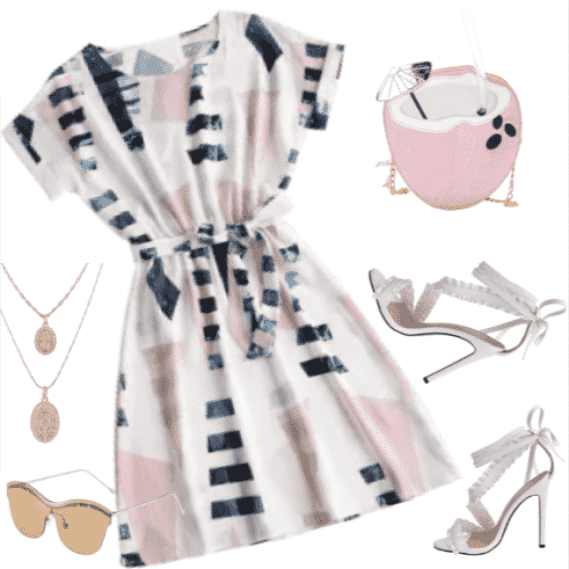 Pretty summer outfit! Girly look!