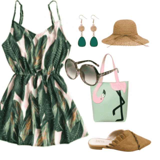 A refreshing beach dress